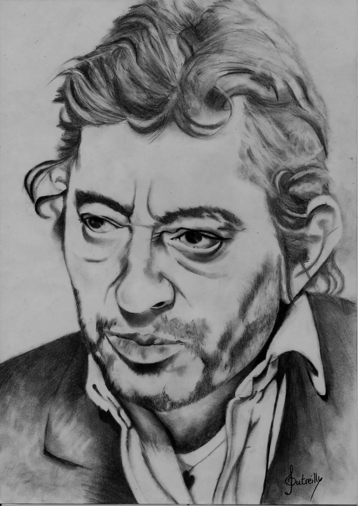 Serge Gainsbourg by audreyD